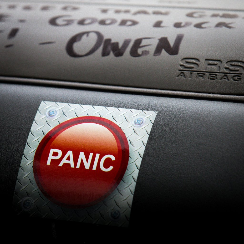 Dashboard panic button