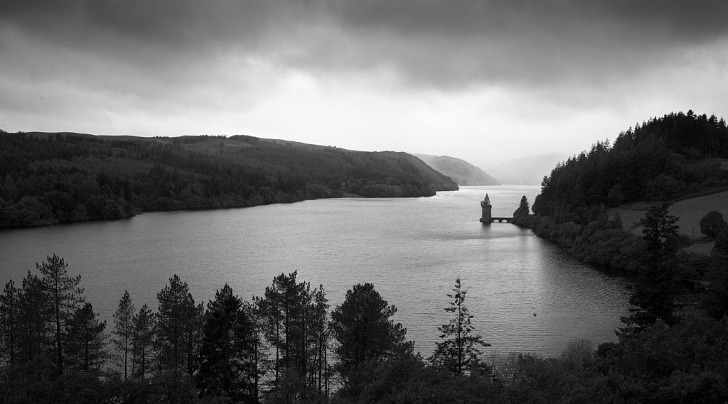 Lake Vyrnwy, evening light