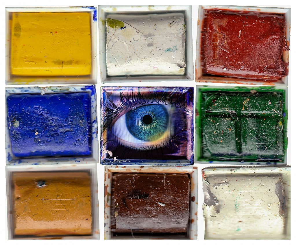 An eye for colour