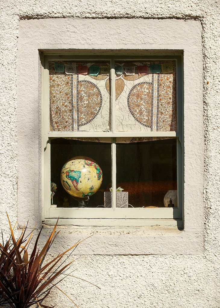 World in a window