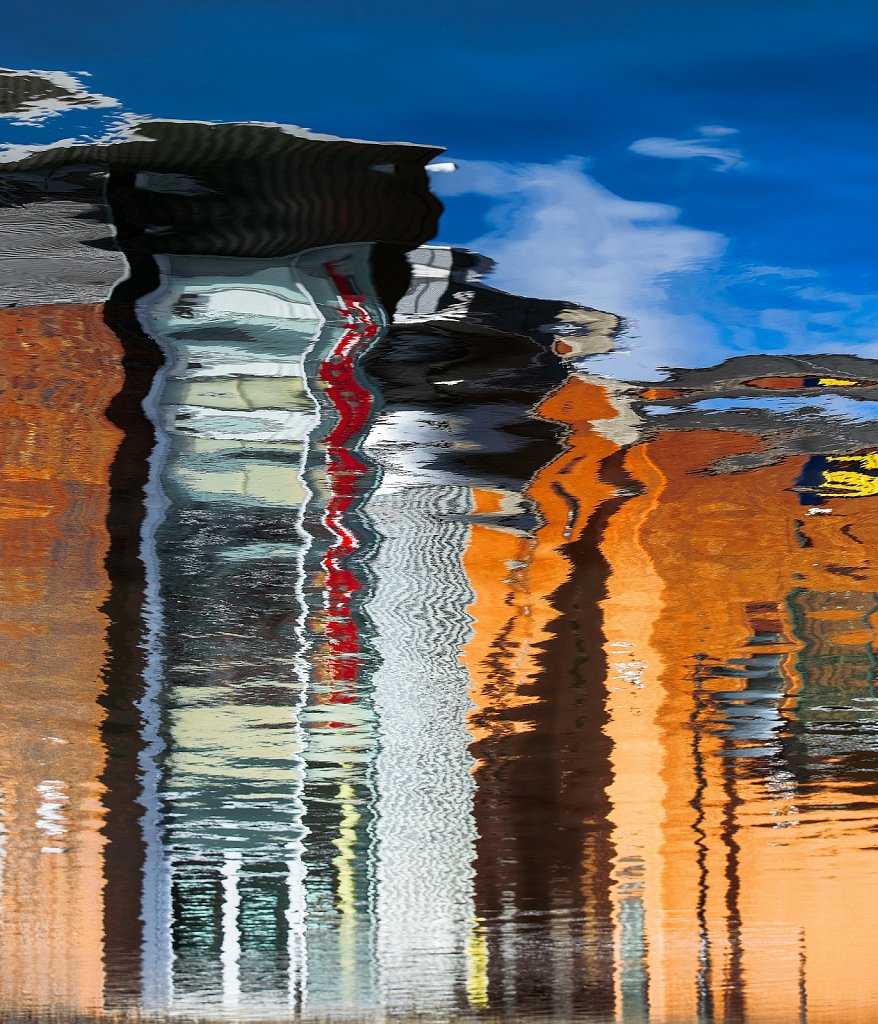 Birmingham canal reflections